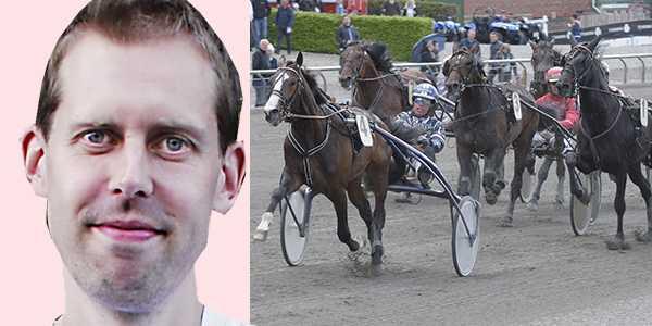 Per Nicklasson tippar Dagens Dubbel från Halmstad.