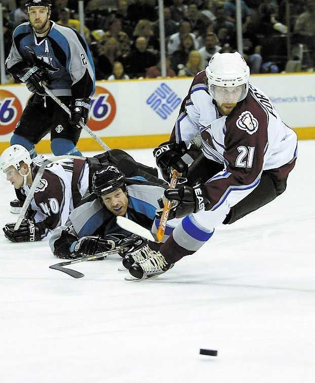 Forsberg är en av NHL:s mesta poängplockare genom tiderna. 2002 var hans bästa säsong med 106 poäng.