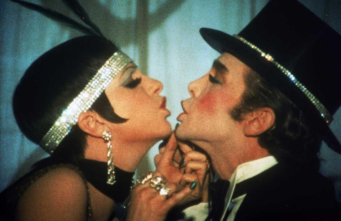 """Liza Minnelli och Joel Grey i klassikern """"Cabaret"""". Båda vann Oscars för filmen."""