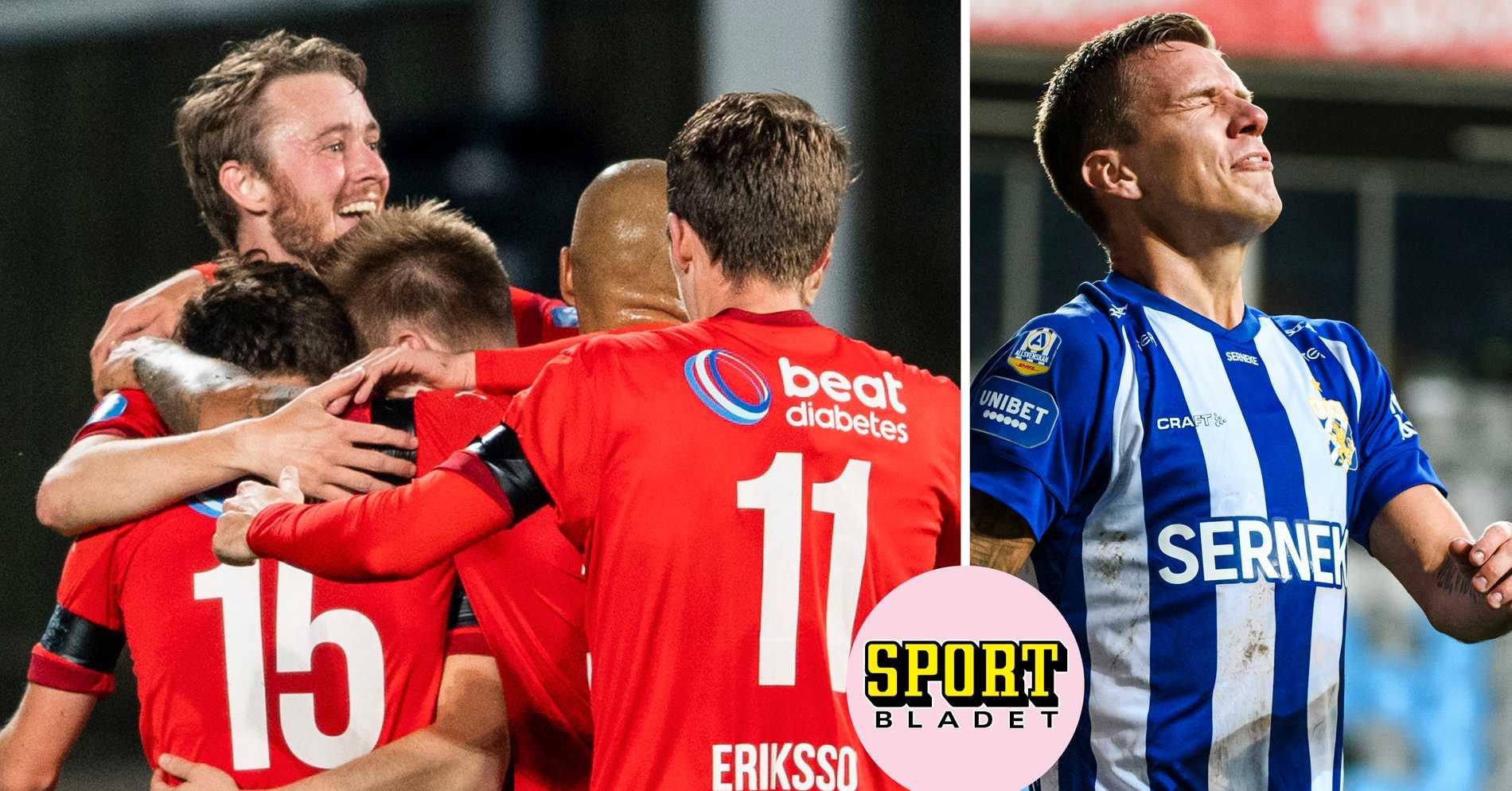 HIF upp på säker mark – petar ner IFK Göteborg till kvalplats