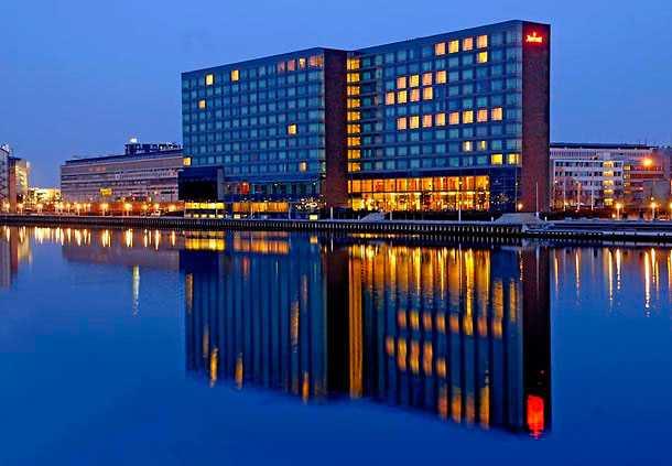 Hotellet ligger i de centrala delarna av Köpenhamn.