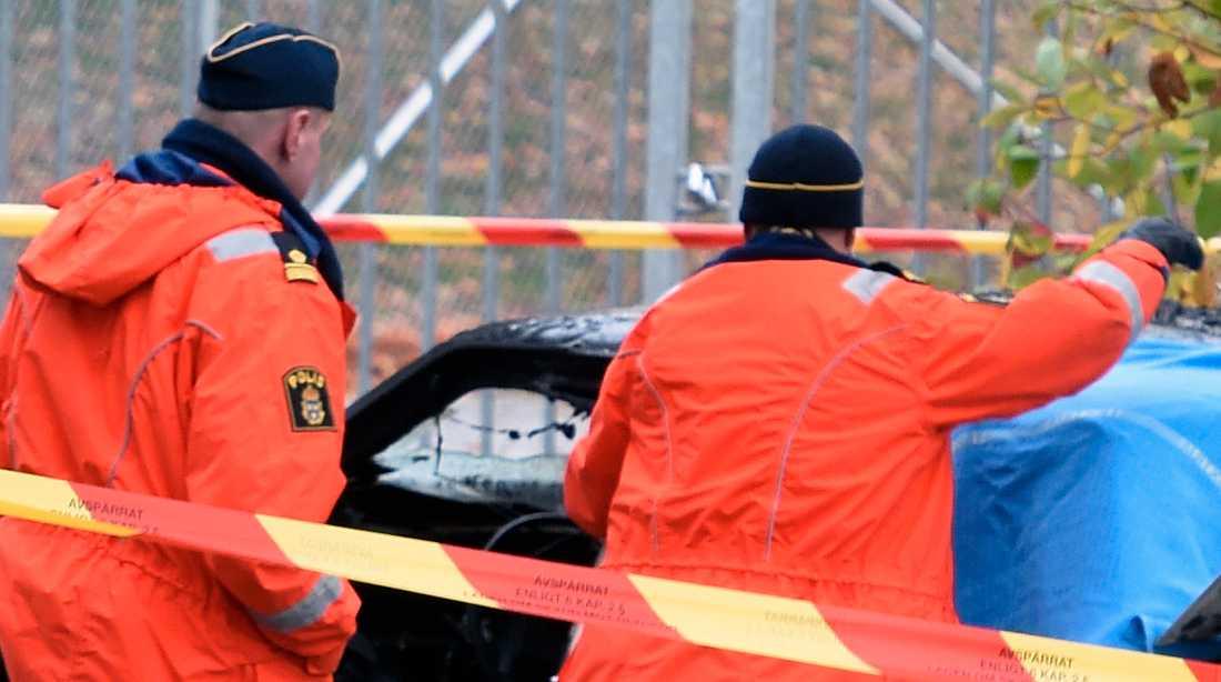 Anette Parnestam tog sitt liv i en bilexplosion i november förra året. Polisen trodde först att det var en olycka.
