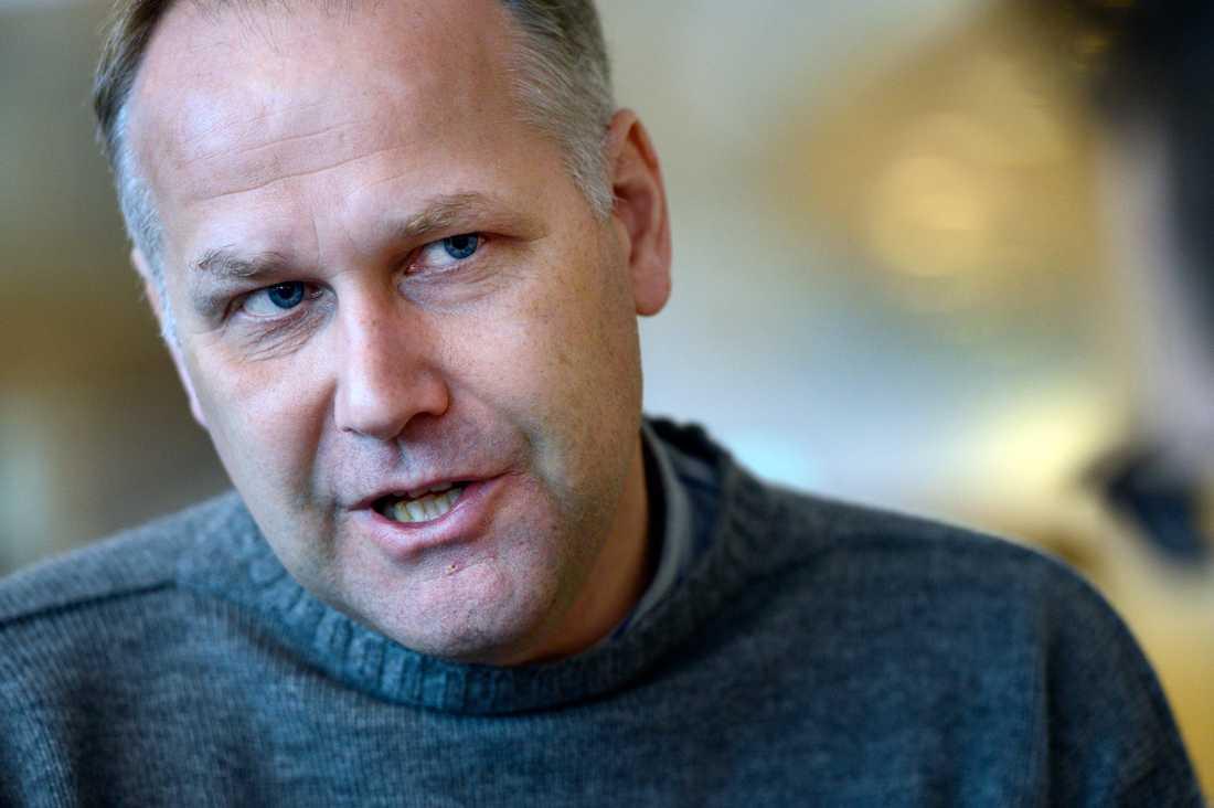 Jonas Sjöstedt, partiledare (V).