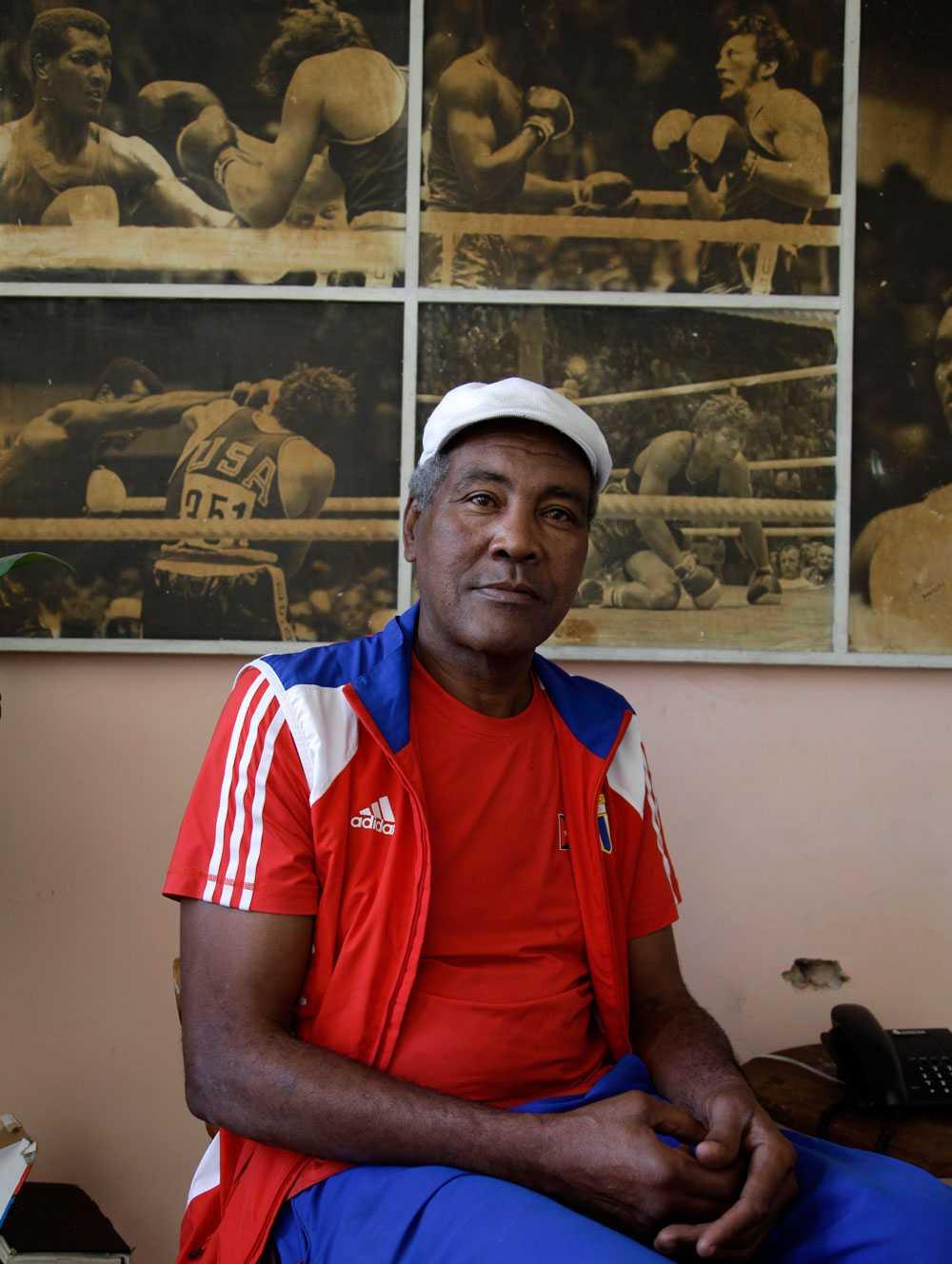 Teofilo Stevenson på en bild från februari 2012.