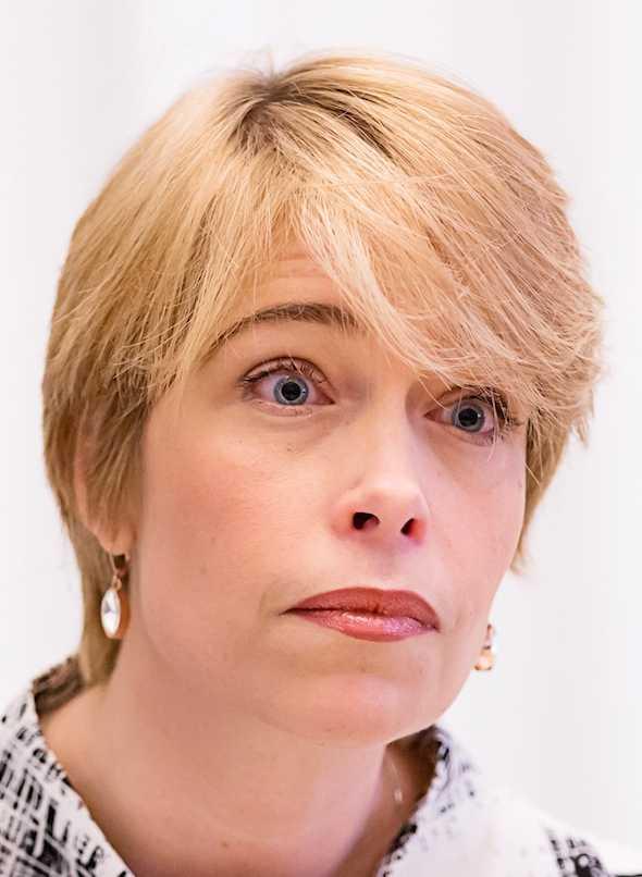 Annika Strandhäll, socialförsäkringsminister (S).
