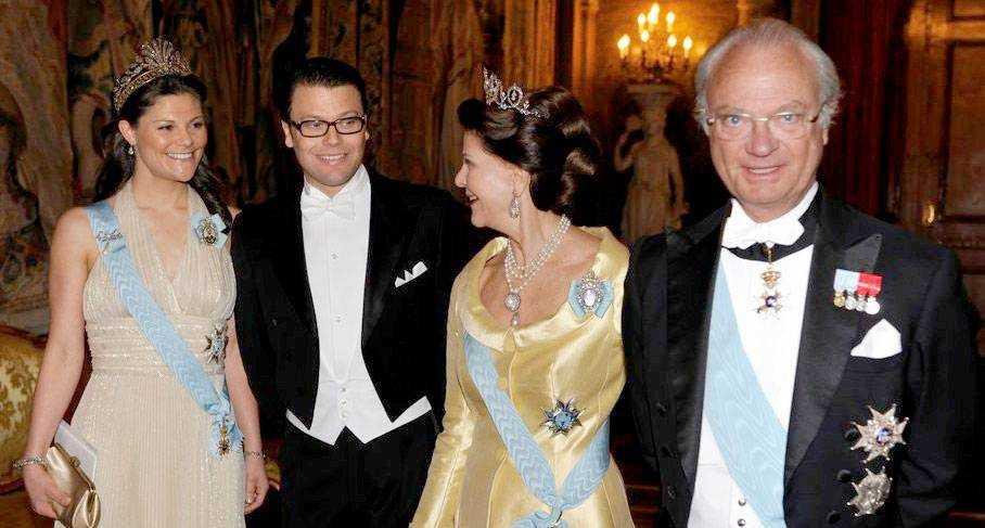 a6015006406e Prinsessan Victoria, Daniel, Silvia och Kungen. Foto: Scanpix