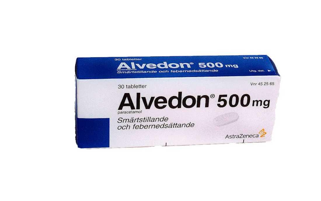 Nu ökar kraven på att införa receptbeläggning av Alvedon.