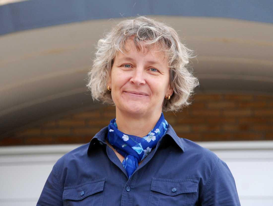 Britta Flinkfeldt Jansson (S), kommunalrådet i Arjeplog som kom på idén att be invånarna om hjälp.