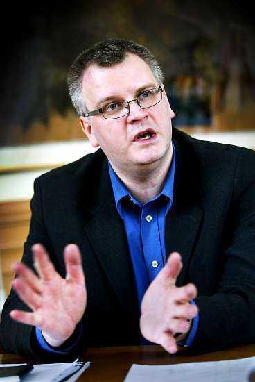 Paul Lindvall, ordförande i Linköpings kommunstyrelse.