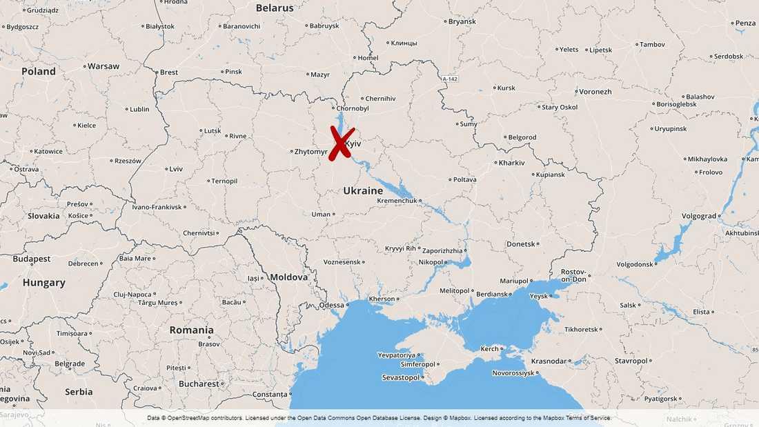 En treårig pojke sköts ihjäl i Kiev, Ukraina. Enligt polisen var den eller de som sköt honom ute efter hans pappa.