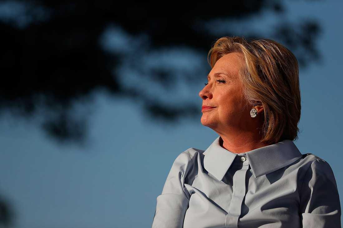 Hillary Clinton i Hampton, Illinois, i samband med firandet av högtiden Labor Day den 5 september.