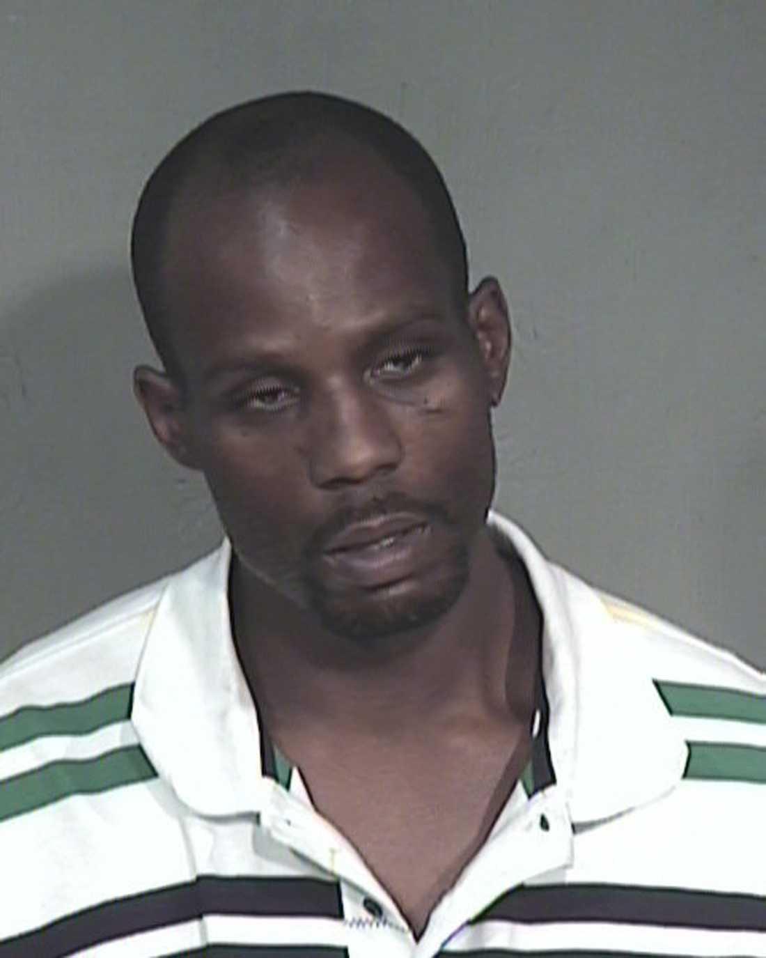 Rapstjärnan DMX har gripits vid ett flertal tillfällen. 2008 togs han in två gånger samma vecka och åtalades för narkotikabrott och djurplågeri.