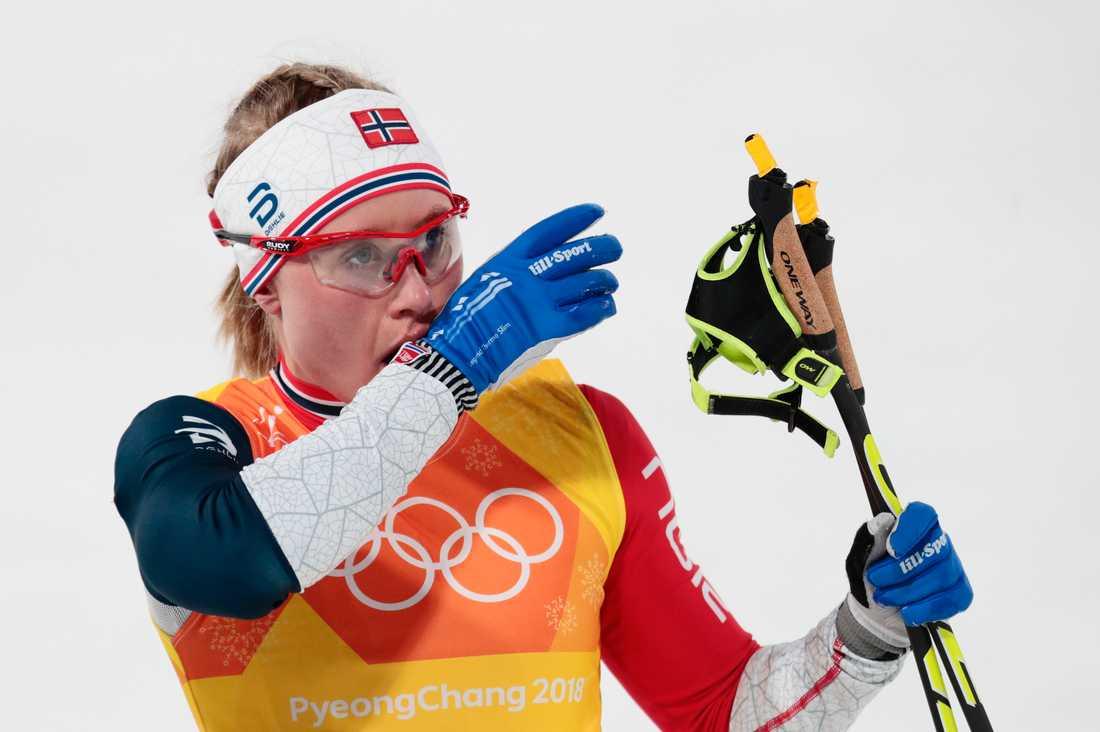 Ragnhild Haga är en av distansåkarna i norska laget.