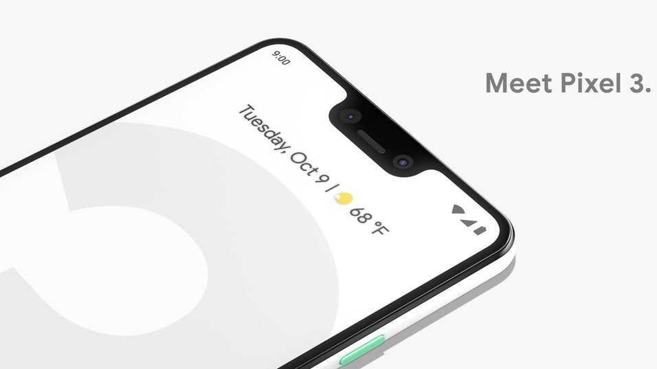 Google Pixel 3 XL release.