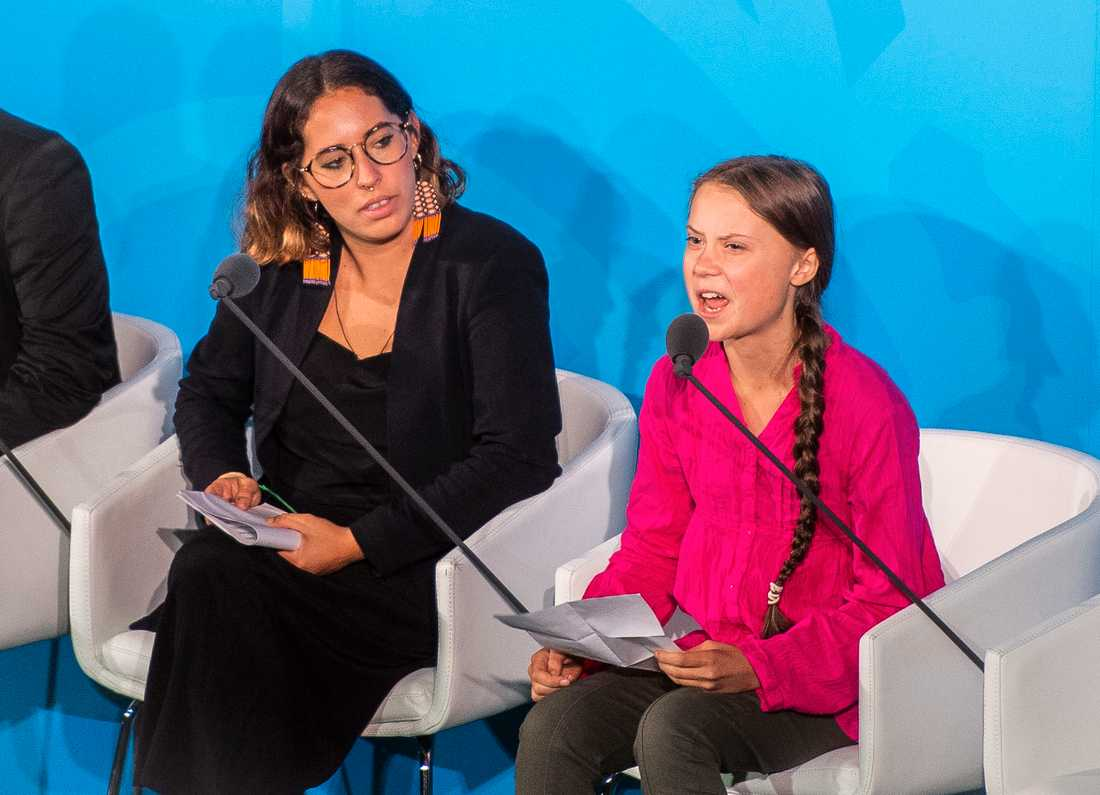 Greta Thunberg under talet.