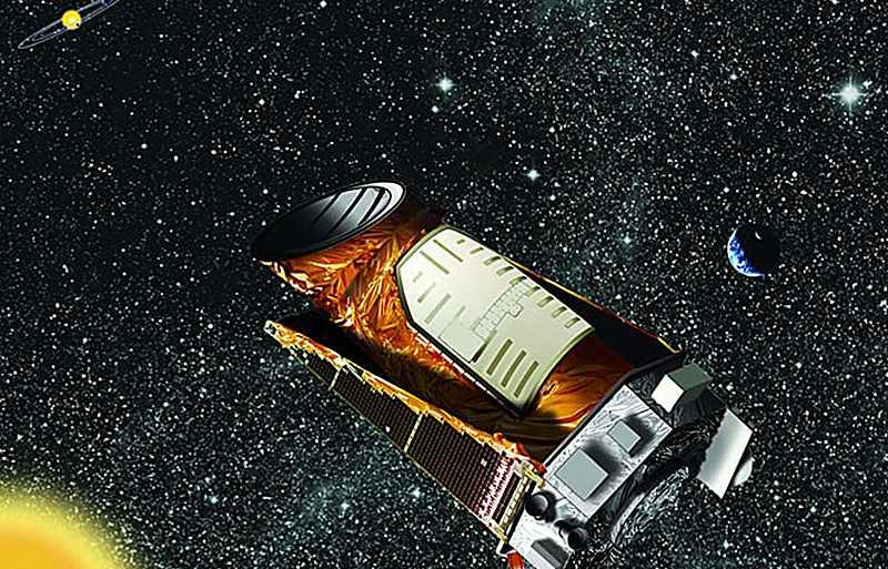Illustration av Kepler-teleskopet.