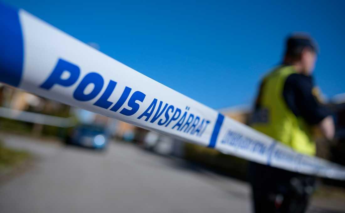 En man skottskadades i Västerås på söndagskvällen och fick lindriga skador. Arkivbild.