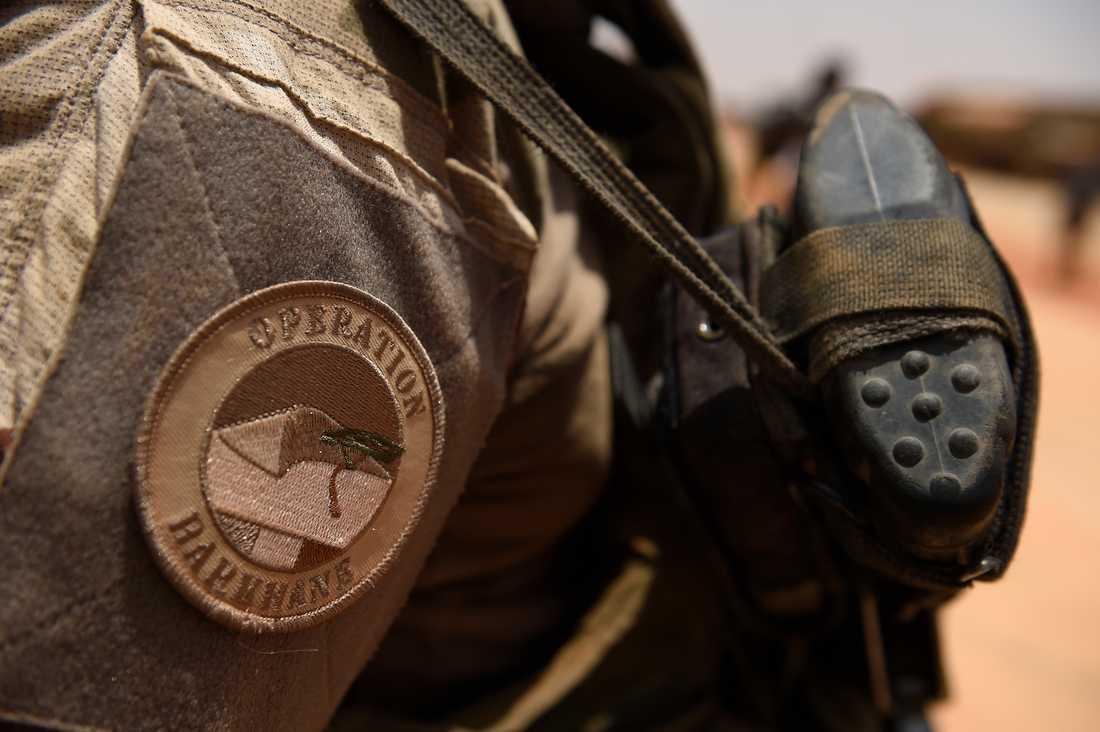 Regeringen har beslutat att Sverige ska delta i insatsen Task Torce Takuba i Mali. Insatsen ska inkluderas i och ledas av befälhavaren för den franska Operation Barkhane, som är inriktade på att bekämpa terrorgrupper i området. Arkivbild.
