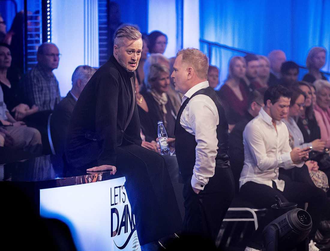 """""""DET ÄR ORÄTTVIST"""" Tony Irving (här med Dermot Clemenger) var inte glad över tittarnas beslut. """"Min känsla är att Ingemar Stenmark är svenskarnas hjälte. Han har vunnit finalen redan innan han har dansat, men Marie är den som bör vinna"""", säger han."""