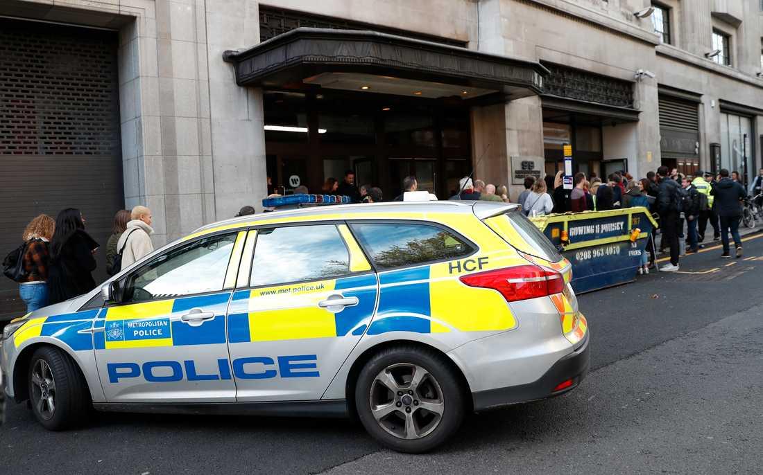 Polis i London.