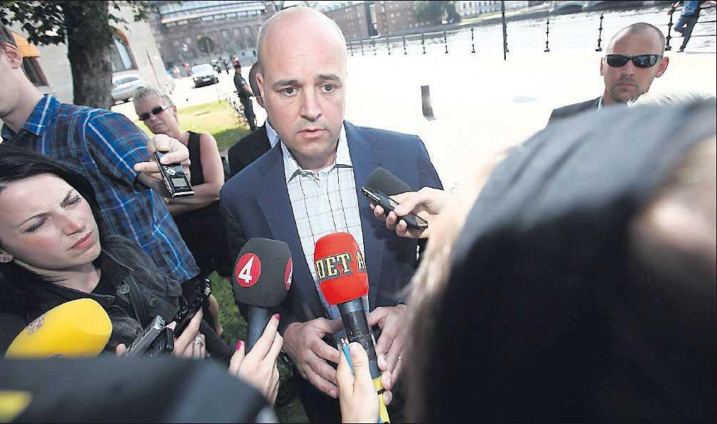 Kris Efter utpekandet av Sven Otto Littorin som sexköpare är det nu han sätts på prov, statsmannen Fredrik Reinfeldt. Frågan är bara om han pallar för trycket.