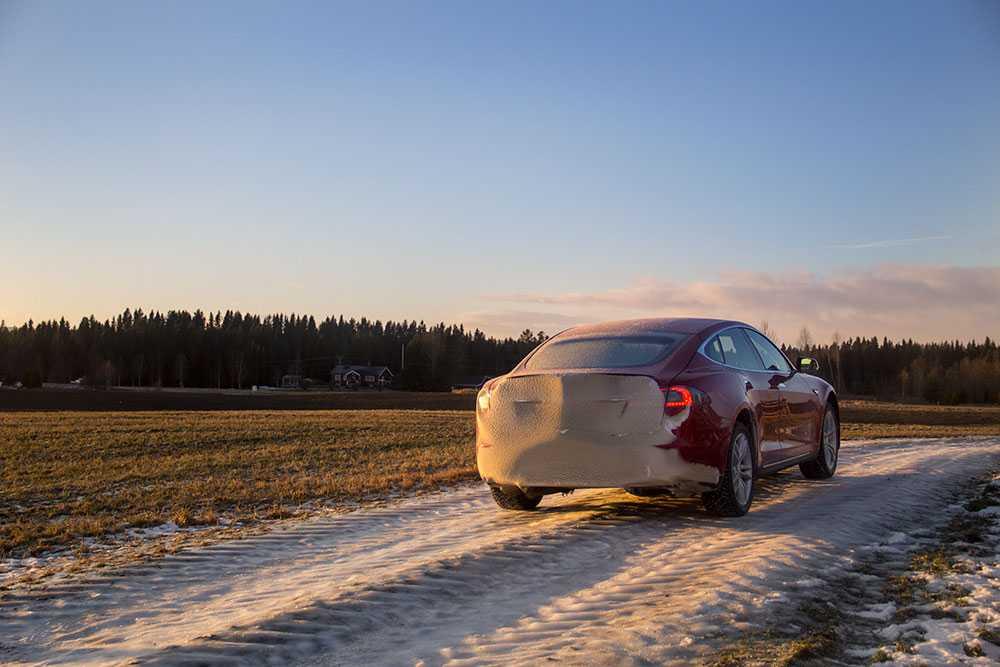 Med luftfjädring kan man höja bilen för bättre markfrigång, perfekt vid dålig väg.