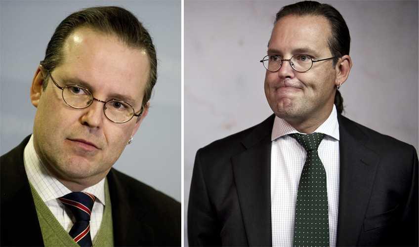 2012 Det  har varit tuffa år för Sverige och för vår finansminister.
