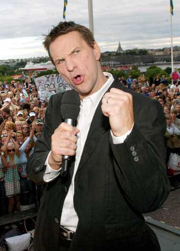 Nu kan Lundin sjunga ut.