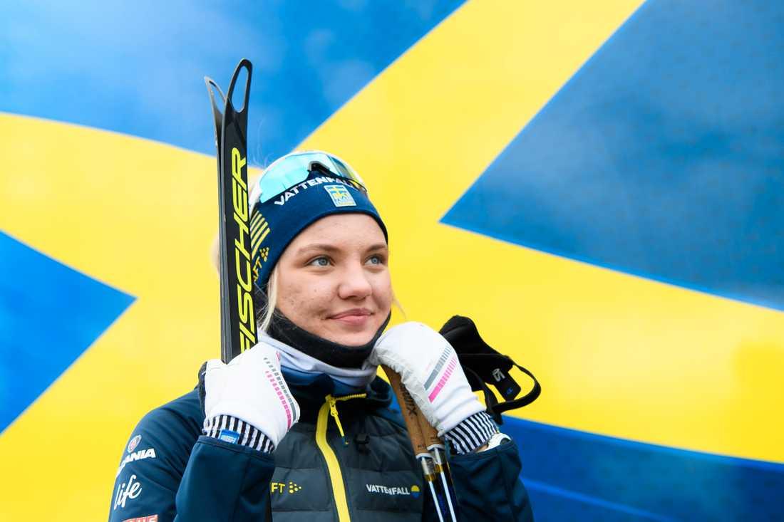 Linn Svahn har höga mål på kommande VM.