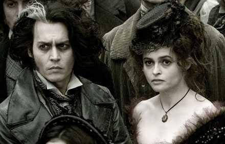 Johnny Depp och Helena Bonham Carter.