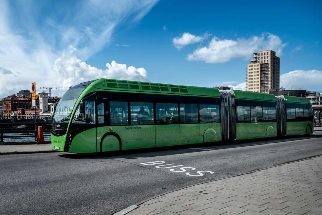 På bussarna kommer kontrollerna öka.