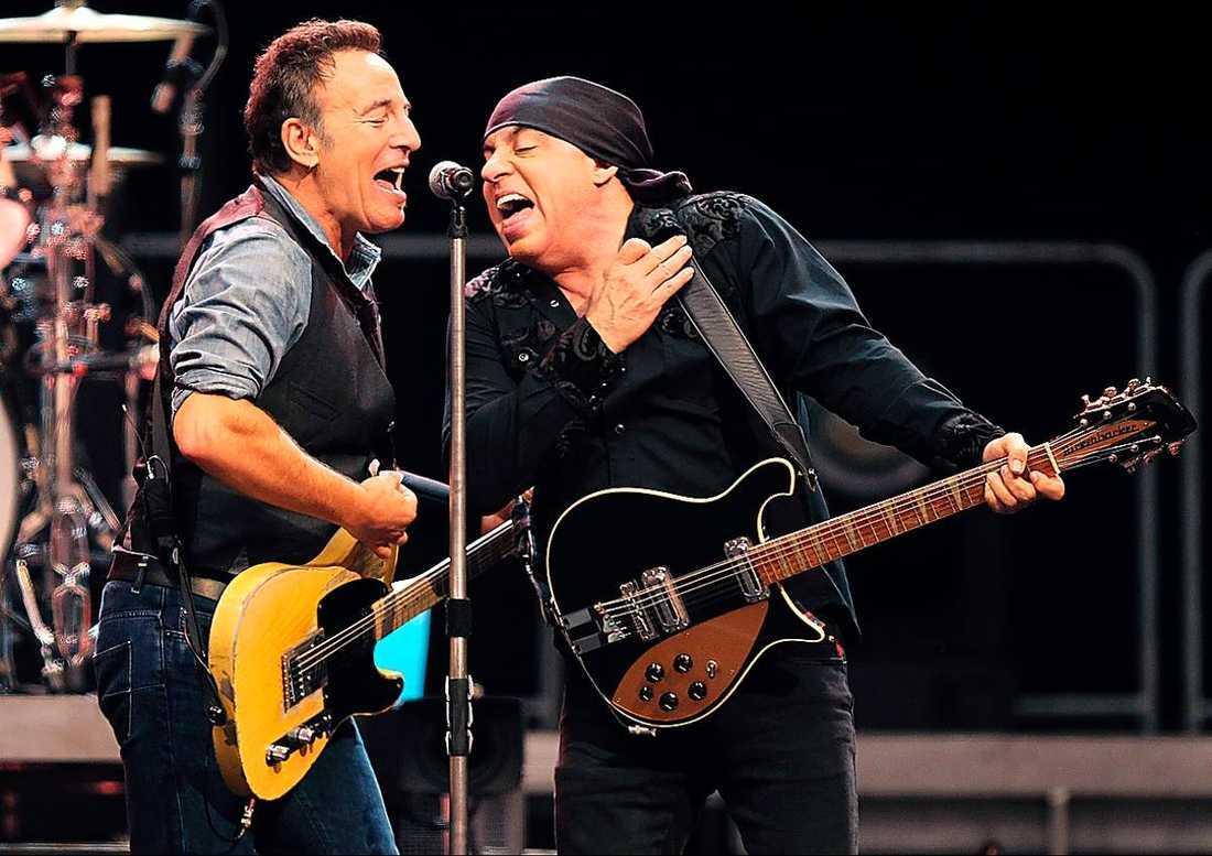 """Bruce och Little Steven, som också spelade i """"Sopranos""""."""