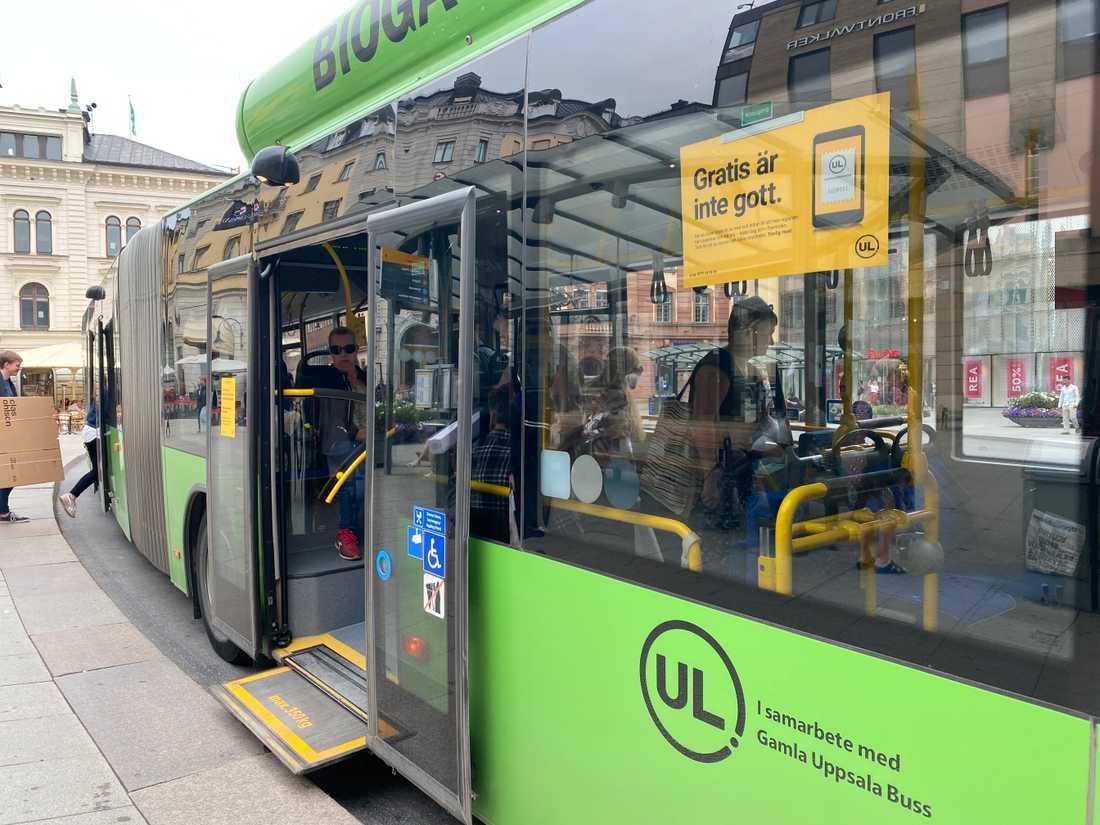 Den 1 maj blev det dyrare att åka fast utan biljett på UL-bussarna.