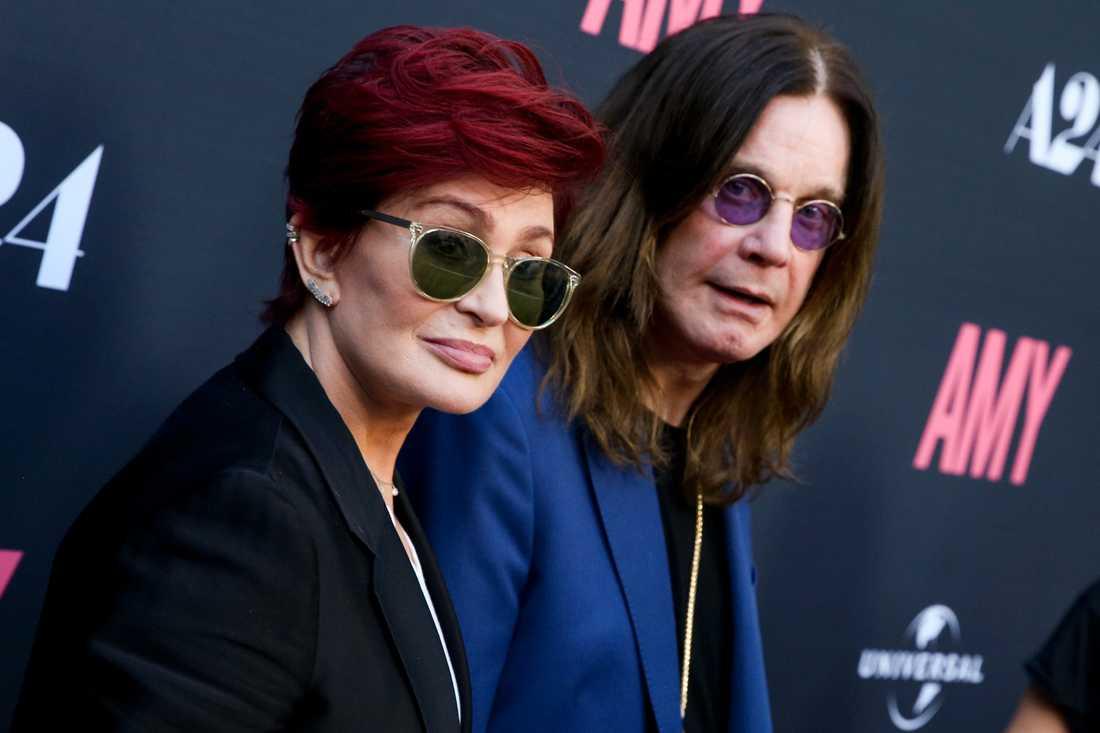 Ozzy Osbourne och Sharon Osbourne