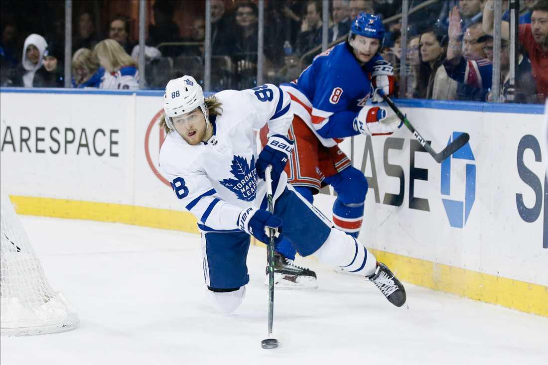 Toronto föll tungt mot Rangers.