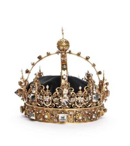 Karl IX:s krona stals från domkyrkan i Strängnäs.