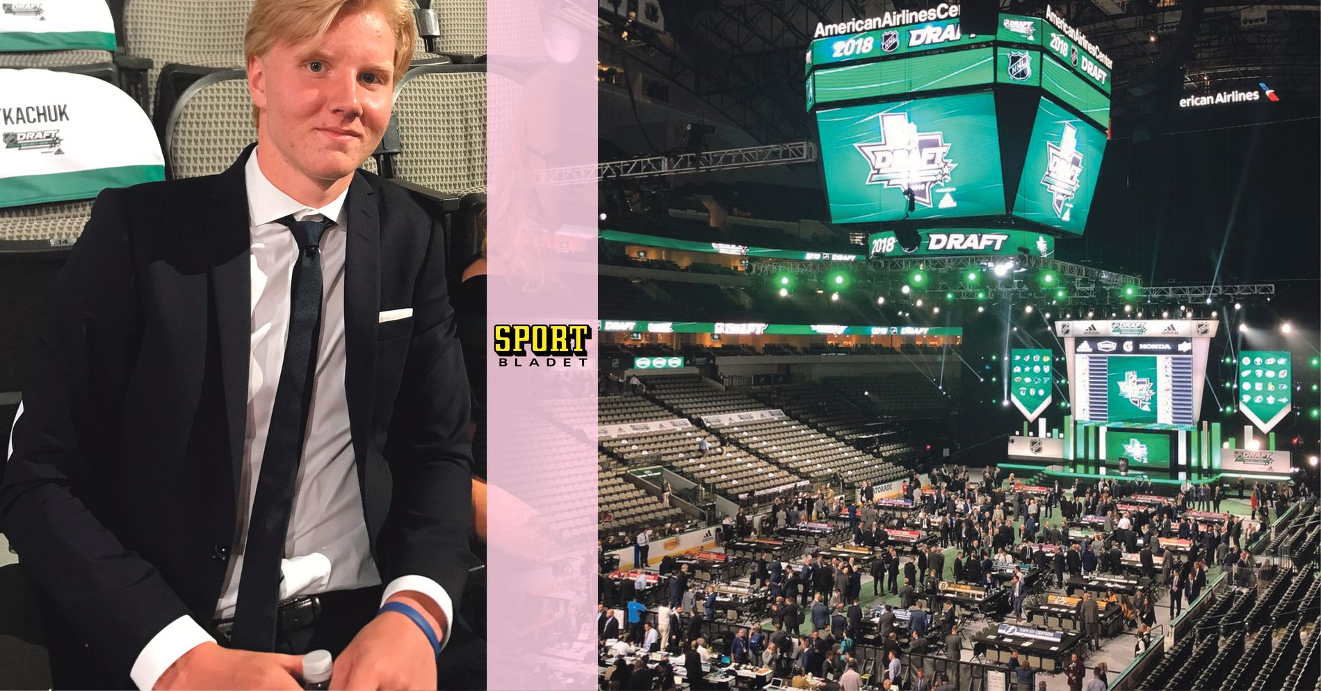 sportskor attraktivt pris var man kan köpa Rasmus Dahlin has arrived at the NHL draft