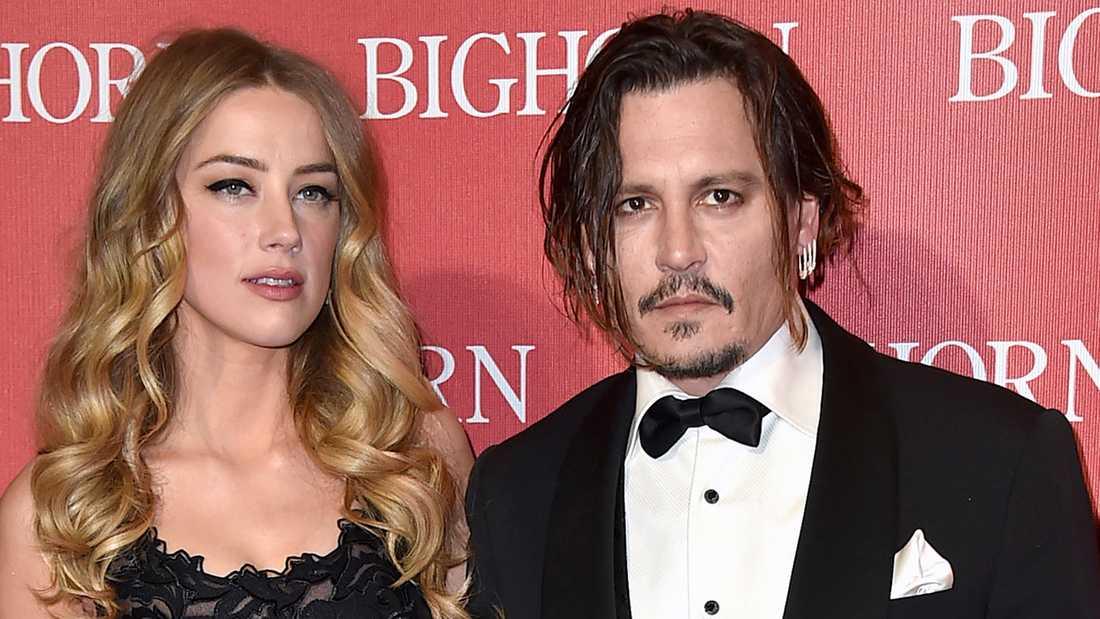 Johnny Depp och Amber Heard.
