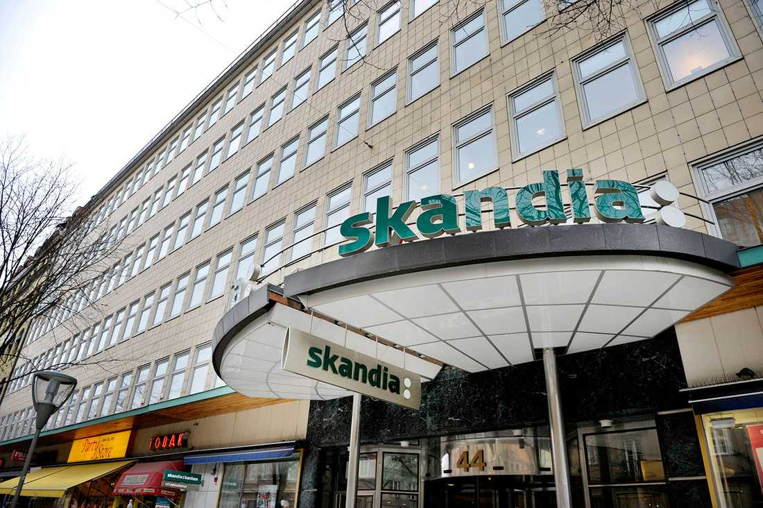 Skandiabanken har haft tekniska problem sedan 19-tiden på onsdagskvällen.