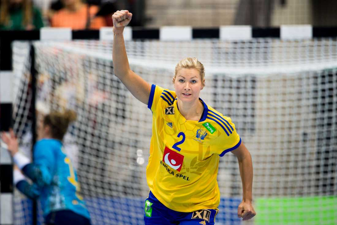 Ulrika Ågren Ålder: 27. Position: Mittsexa. Klubb: Buxtehuder SV.