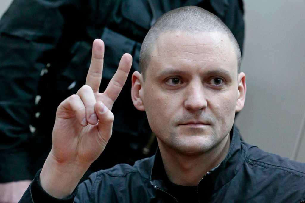 Hjälte? Sergej Udaltsov har varit delaktig i flera protester mot Vladimir Putin. I juli dömdes han till till 4,5 års fängelse.