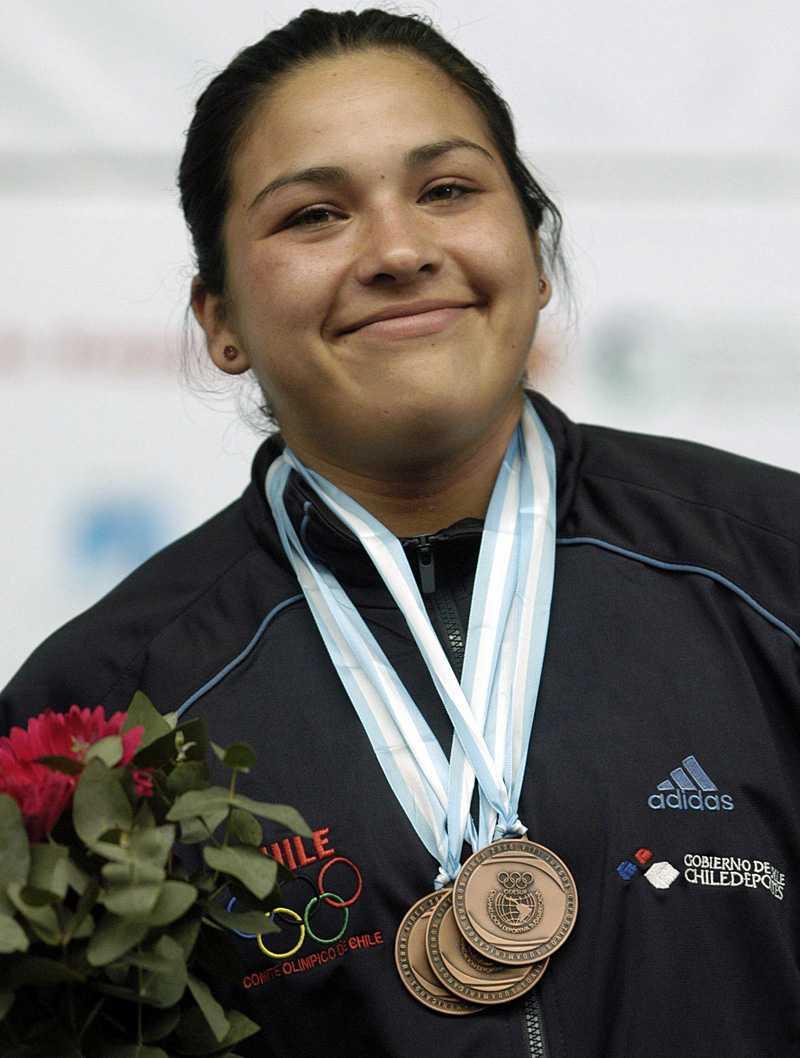 Elizabeth Poblete var tolva i vid OS i Peking.