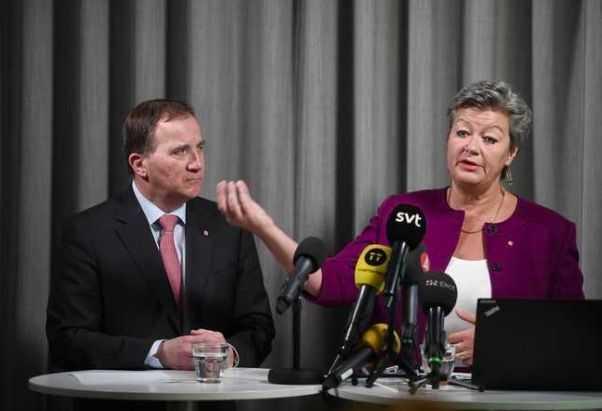 Regeringen utreder arbetsrätten. På bild statsminister Stefan Löfven och Ylva Johansson, arbetsmarknadsminister.