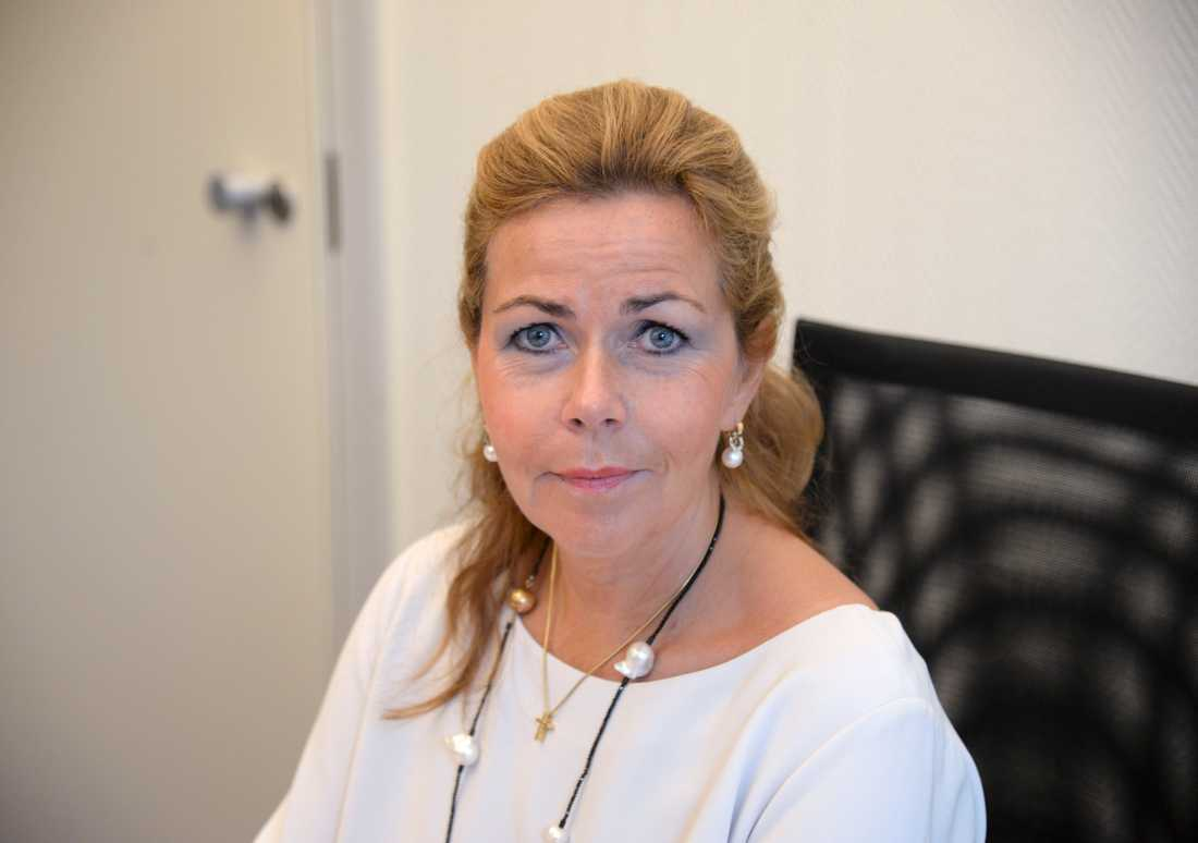 Cecilia Wikström (L) i EU-parlamentet.