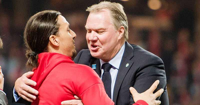 Karl-Erik Nilsson ryter till mot Zlatan.