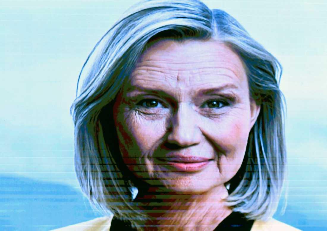 Ebba Busch Thor snabbspolade sitt eget åldrande på helgens riksting.