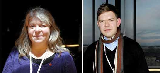 Kamp om prestigeposten Både Mia Sydow Mölleby och Aron Etzler vill bli Vänsterpartiets nya partisekreterare.