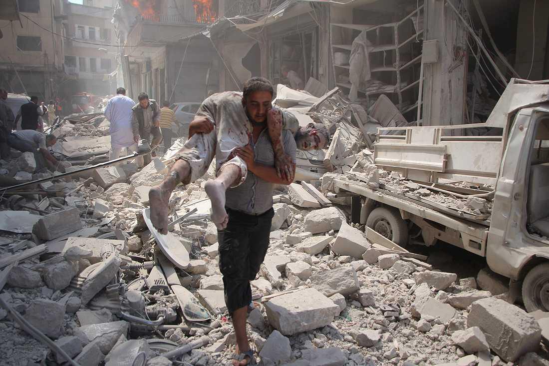 Bomberna har regnat över Idlib de senaste månaderna