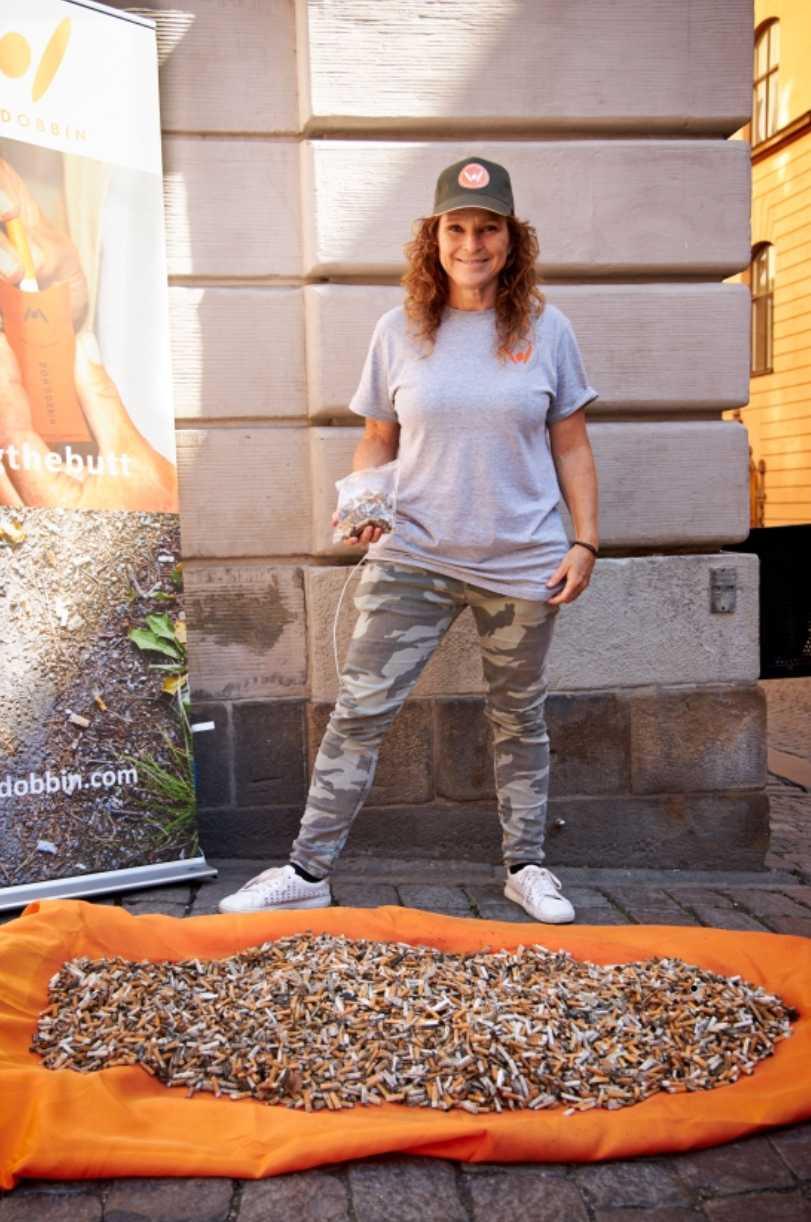 Rebecka Dahlén har arbetat med fimpfrågan i tio år.