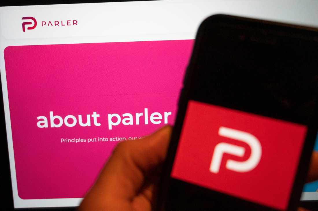 Parlers webbplats gick åter att nå under måndagen. Arkivbild.